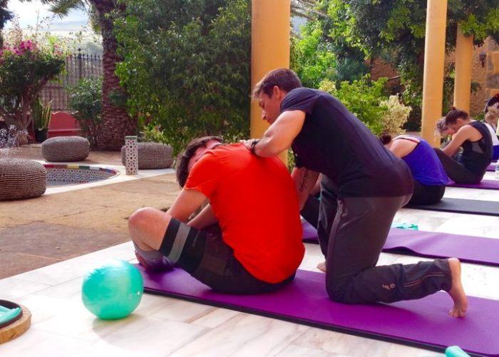 Pilates class with Alex at Sky Pilates and Yoga Retreat